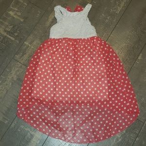 PINKY Girls size 4 toddler pokadot dress